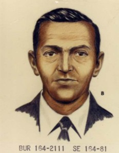 Of the many sketches of DB Cooper undertaken by the FBI, this image is considered by many to be the most accurate.