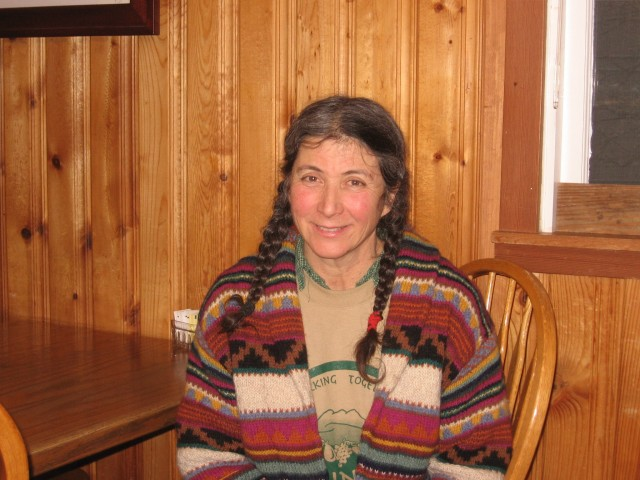 Margaret Franich, the founder of the Mountain Community Co-op, serves without pay and is currently the coordinator of volunteers.