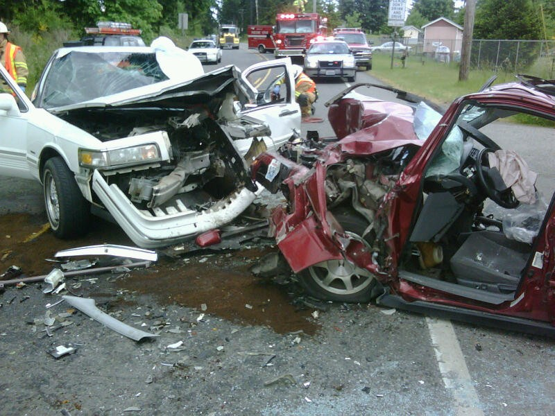 Head On Collision Injures Two On Sr 507 Near Mckenna The