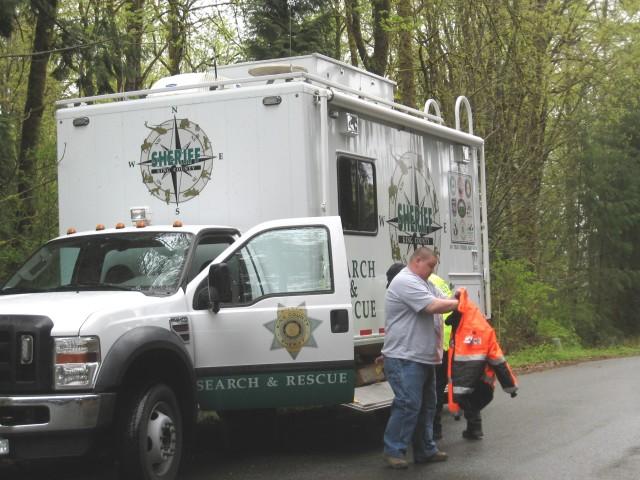 Cossey, homicide, KCSAR truck, 4. 27. 13
