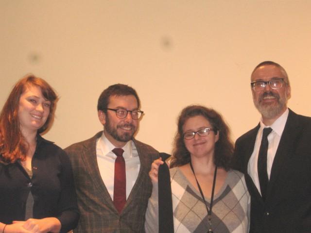 Symposium 2013, Melissa, Geoff, Gewn Perkins, Doug C-K
