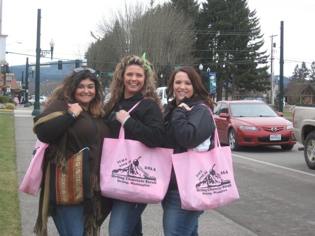 Chocolate Stroll, Orting, three-some, great, 2014