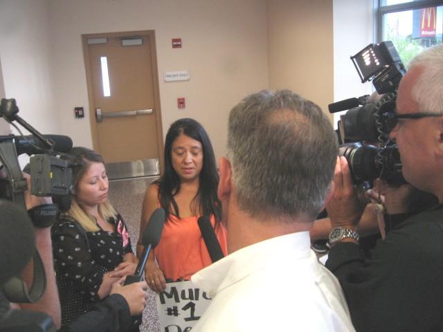 PCSD, Nicole, Amy and Melissa address media,