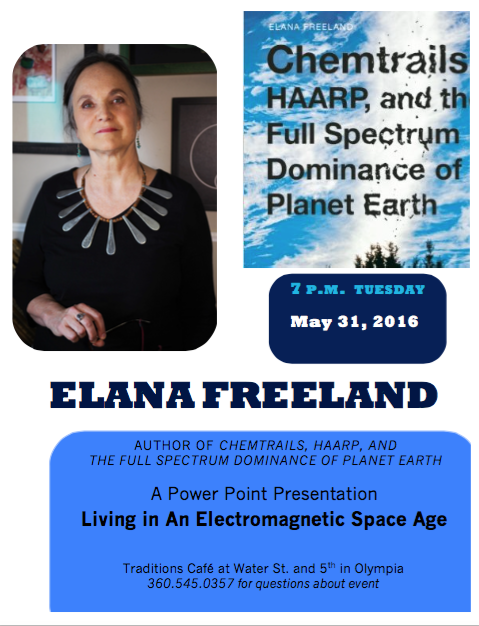 Elana, Chemtrails, traditions, 5. 22. 16