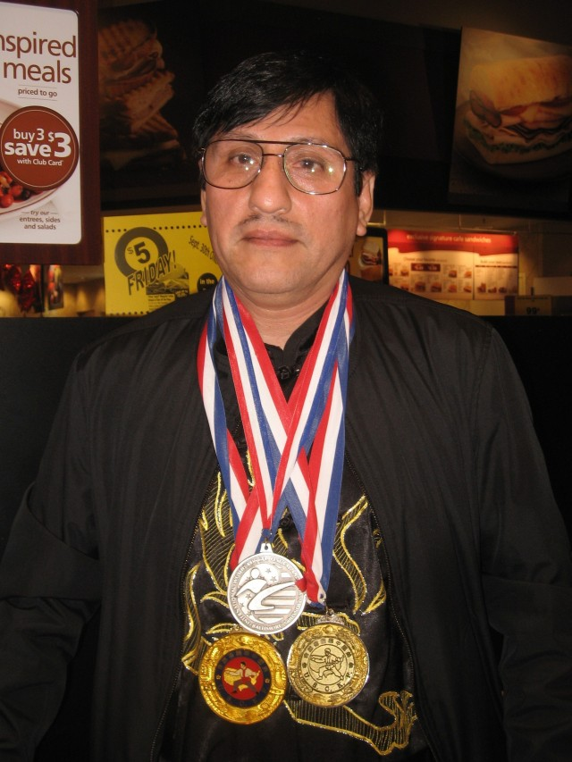 Edwin, wearing medals,(1)