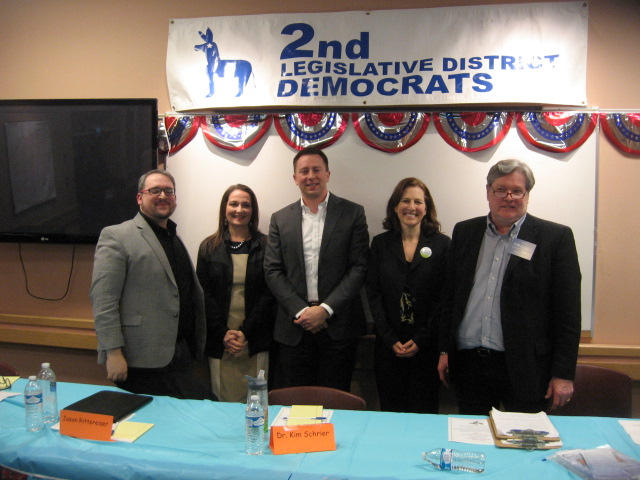 Candidates Forum, 8th CD, 1. 31. 18, The five, best