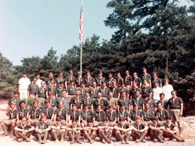 Phil, Wauwepex staff, 1970, 4th row, Me and Phil