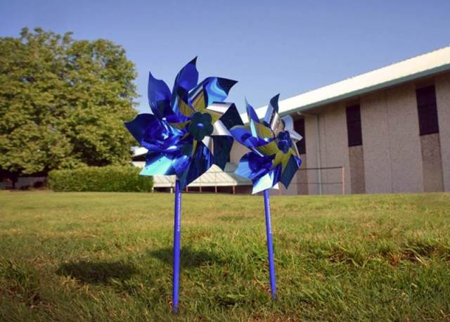 Pinwheels, PC ampaign to end child abuse, 3. 30. 18