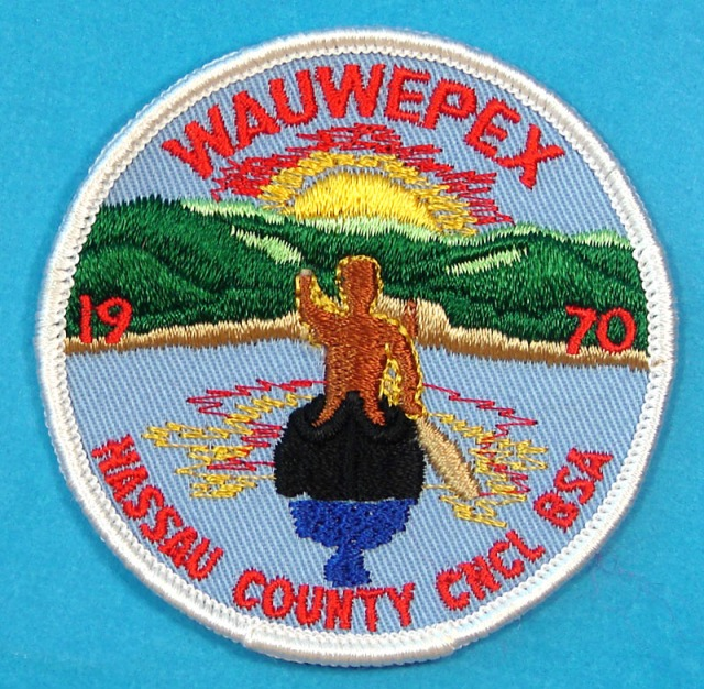Wauwepex, summer camp patch, 1970