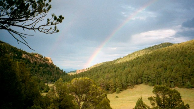 Philmont, rainbow, AP,
