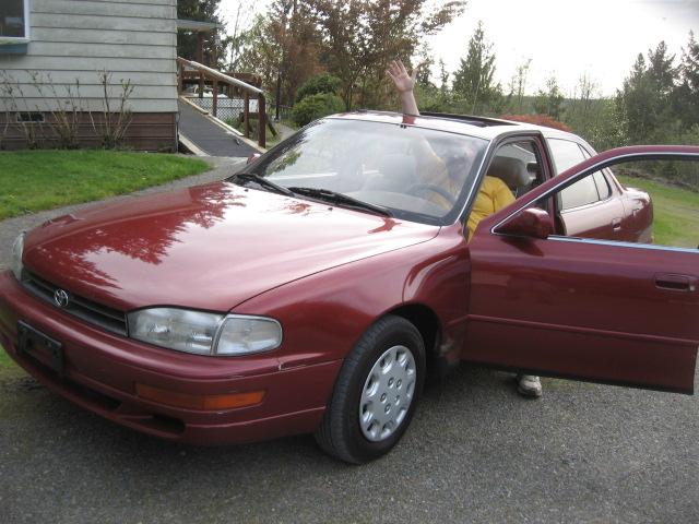 '94 Toyota Camry, BAS, sunroof, 4. 25. 18