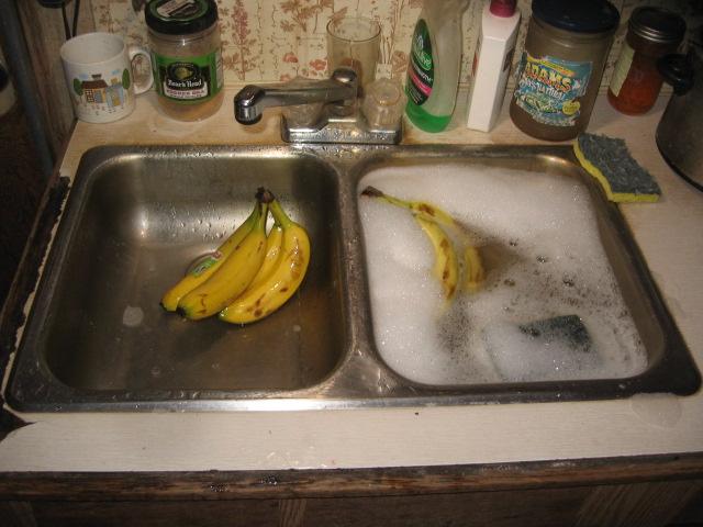 Covid pix, bananas, okay